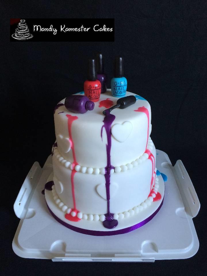 Nail Varnish Cake