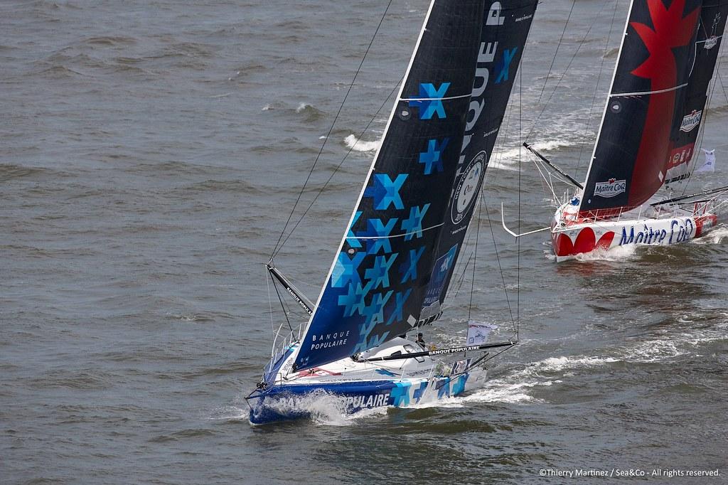 Mono BP VIII - Départ New York-Vendée_Copyright Th.Martinez/Sea&Co/BPCE