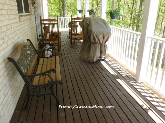 May in the Garden and on the Veranda at From My Carolina Home