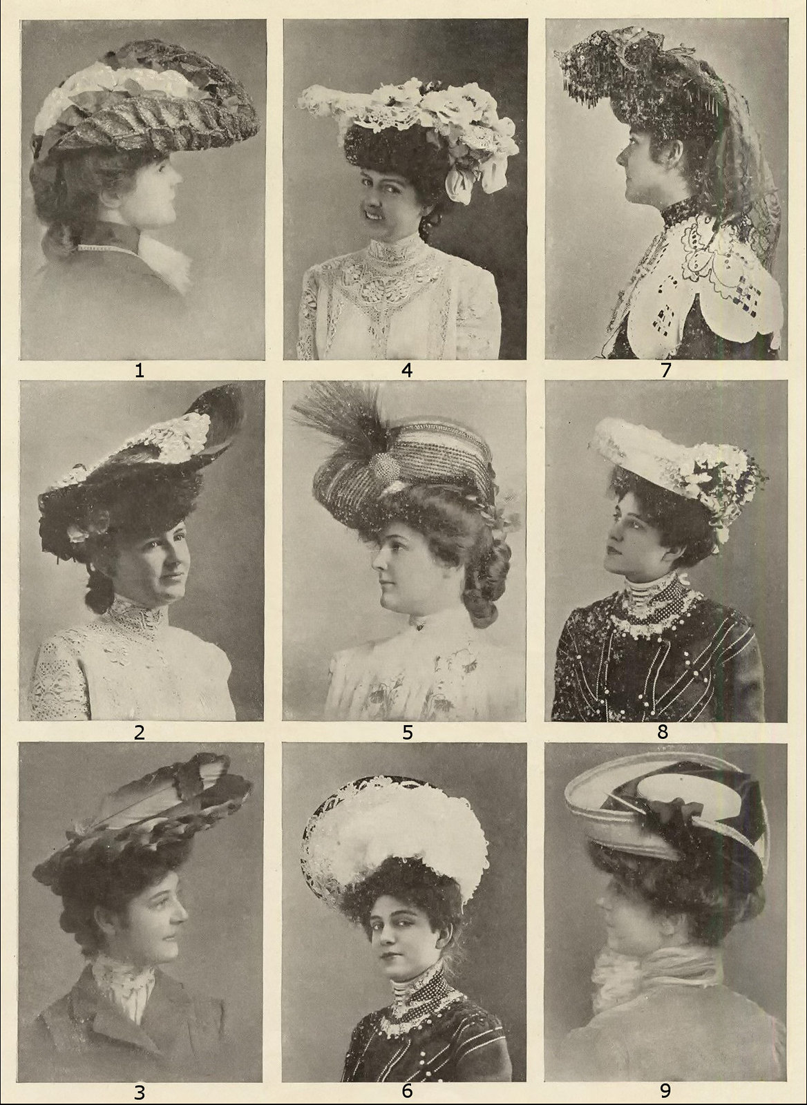 Summer hats, May 1903
