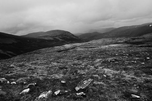 Descending to Gleann Lochain