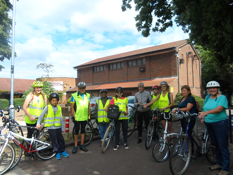 Welsh Harp Ride group at Sidings Community Centre