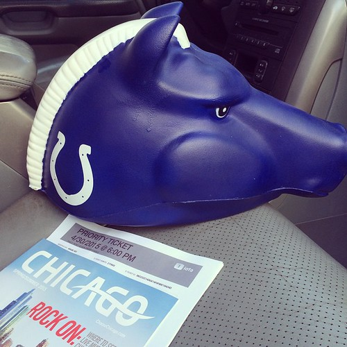 NFL Draft 2014 Chicago Road Trip Indianapolis Colts