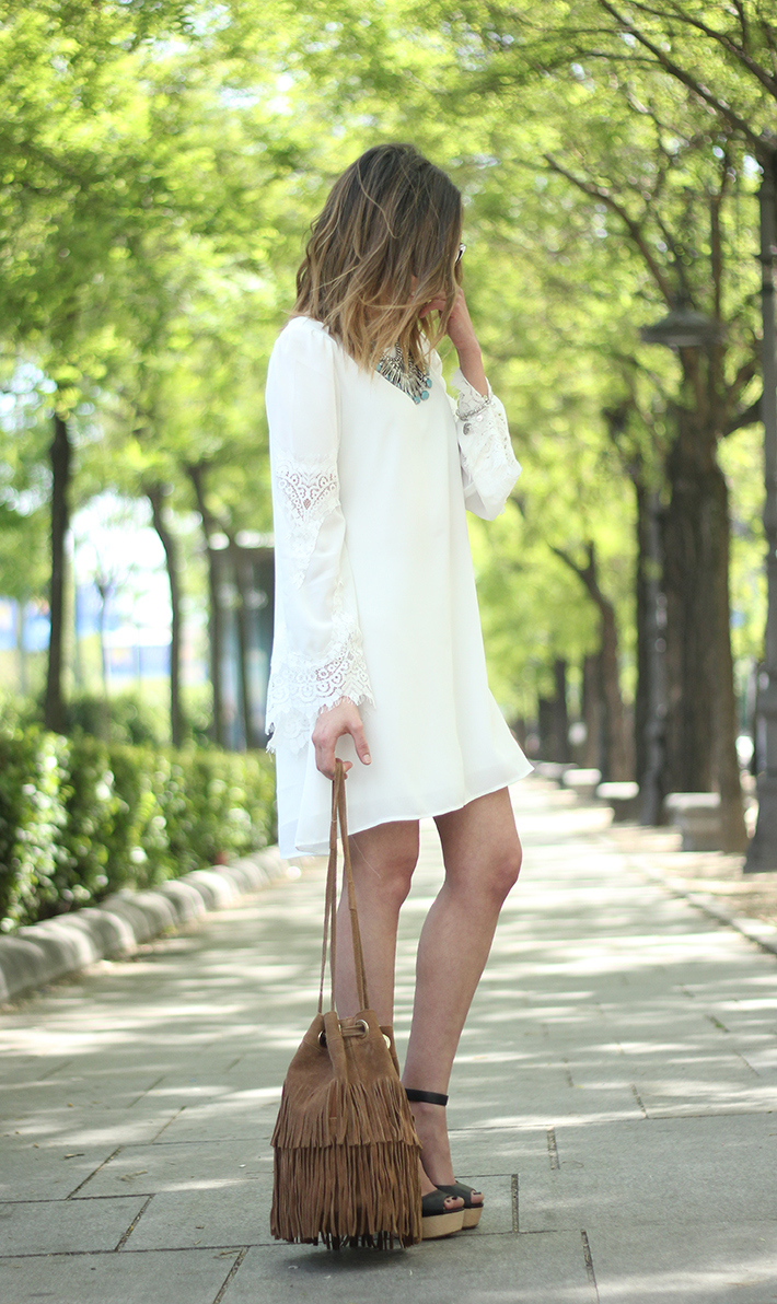 white dress with lace sleeves22