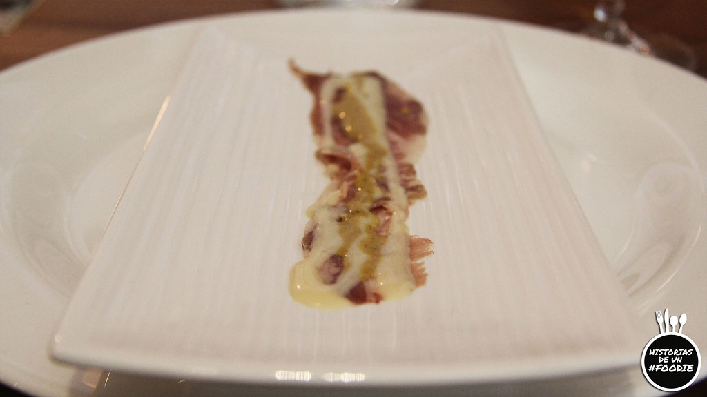 Sashimi ibérico de orza