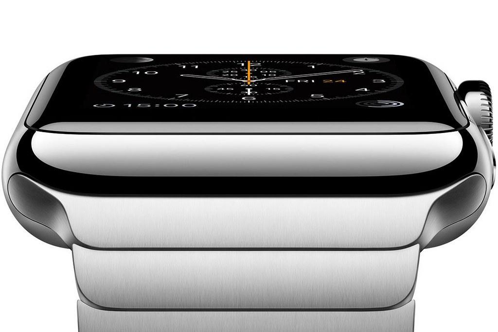 Góc cạnh của chiếc smartwatch apple