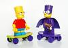 Bart Simpson vs Bartman