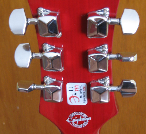 3x3 Vintage Style Tuners Nickel for Gibson Les Paul SG Guitar