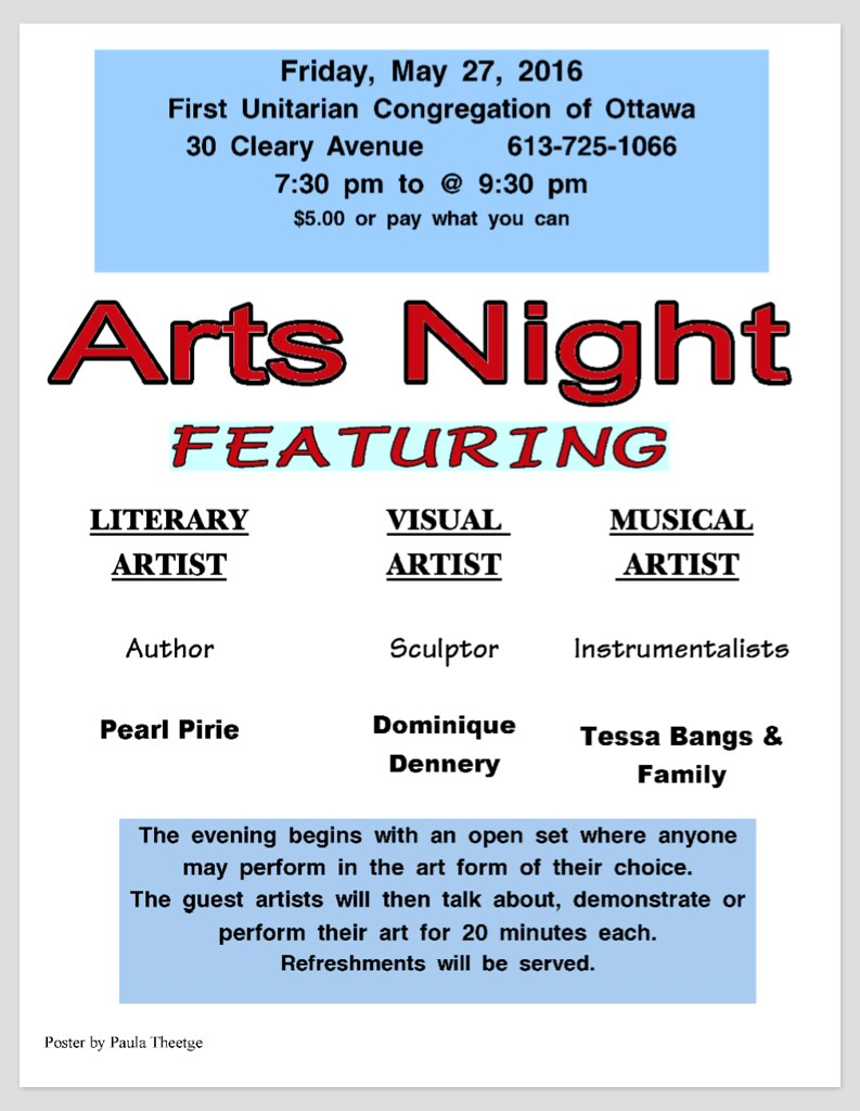 ArtsNight poster