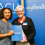 ACUscholarship2016-167 Fiona Manoa and Prof. Karen Flowers