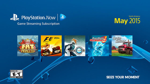 PS Now, May 2015 Update