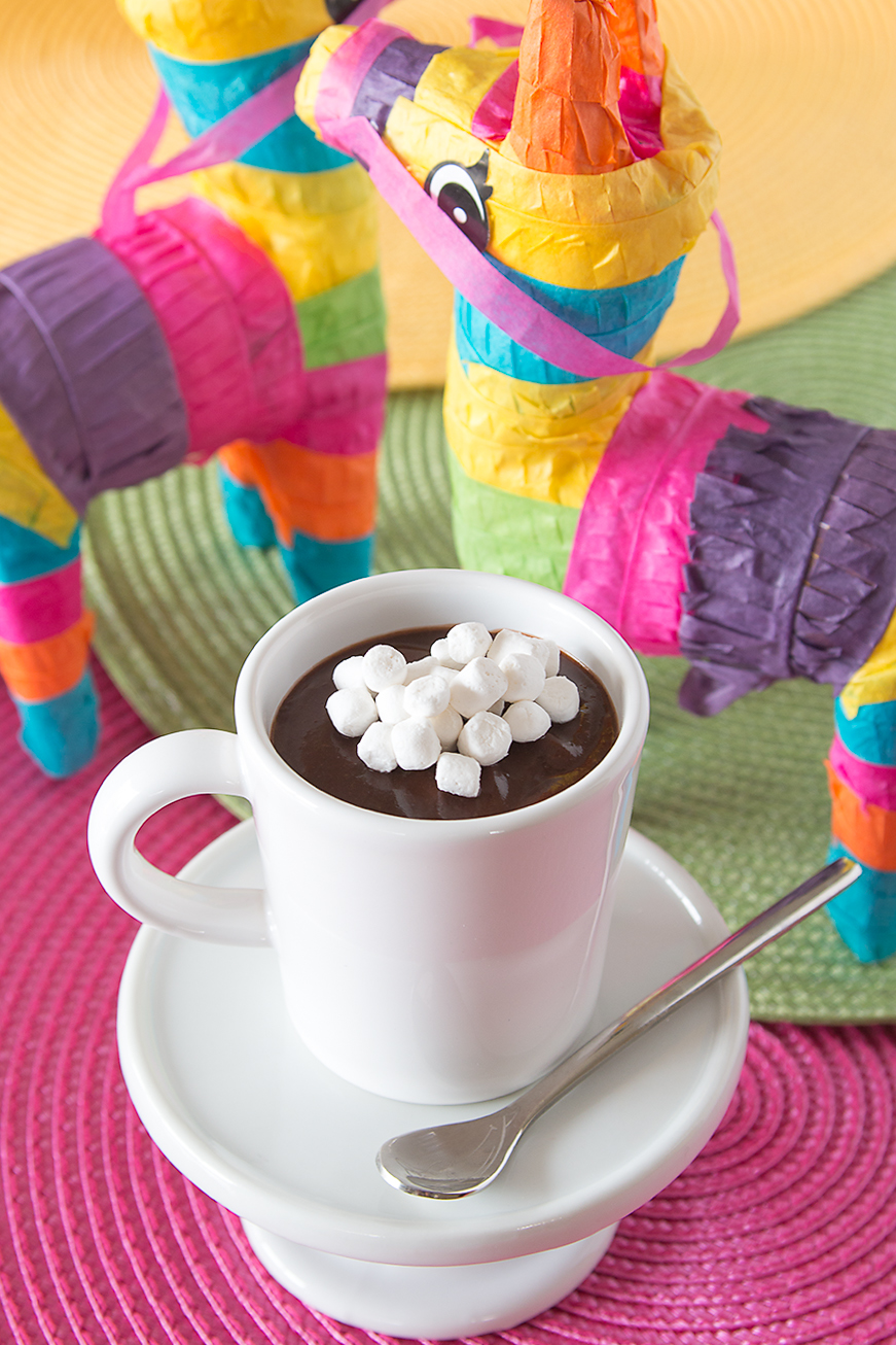 Celebrate Cinco de Mayo with Mexican Hot Chocolate Pudding Cups