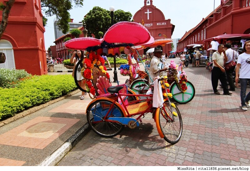 馬來西亞 麻六甲 馬六甲景點 荷蘭紅屋廣場 聖保羅堂St. Paul's Church 馬六甲蘇丹王朝水車 海上博物館4
