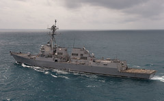 USS Sampson (DDG 102) file photo. (U.S. Navy/PO2 Antonio P. Turretto Ramos)