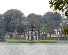 Tour de la Tortue, Lac Hoàn Kiếm, Hanoi (Vietnam)