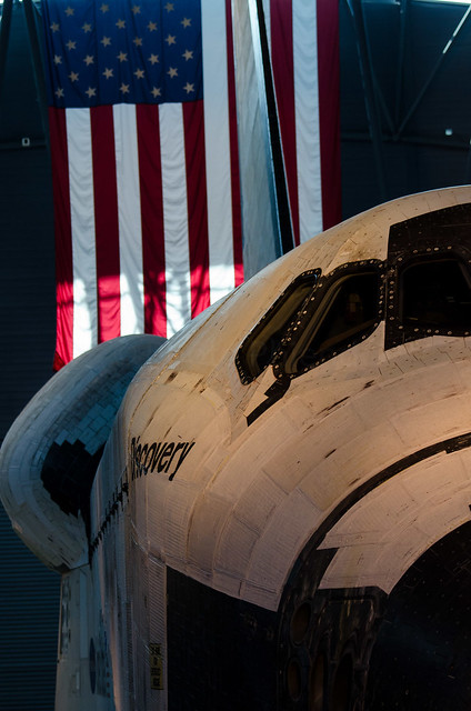 Space Shuttle Discovery at Udvar-Hazy Air & Space Museum