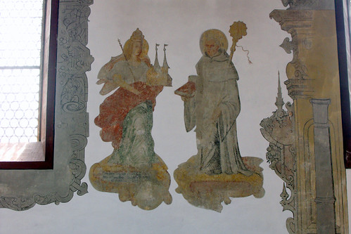 St. Ägidius, Wolfmannshausen, Fresko