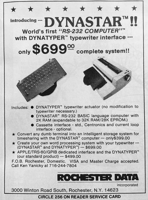 Photo:Dynastar Dynatyper from Rochester Data (1981 ad) By blakespot