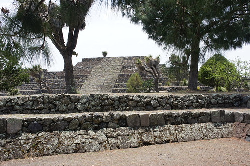 Cantona Arqueological site