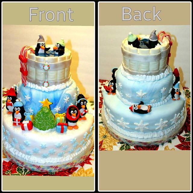 Christmas Cake by RedRum Cakery