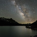 Milky Way Over Tioga Lake by Jeffrey Sullivan