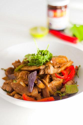 Thai Chili Jam Stir Fry Pork