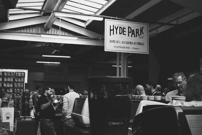 London Coffee Festival Hyde Park