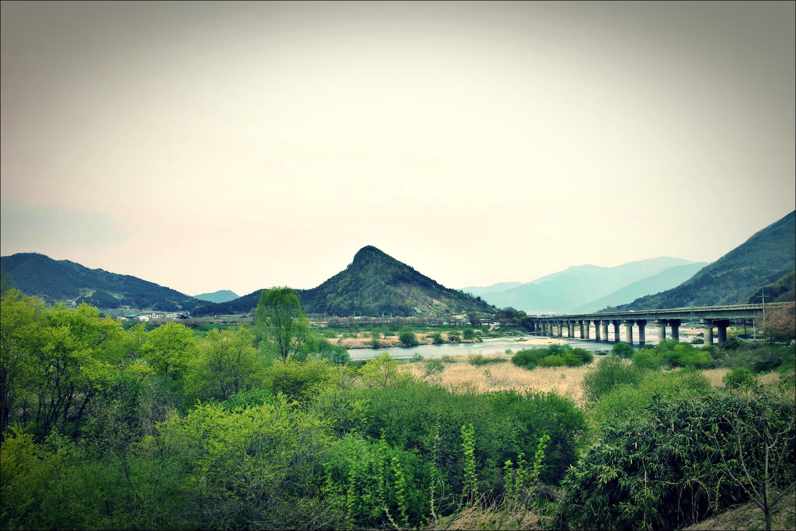 사성암 가는 길-'섬진강 자전거 여행'