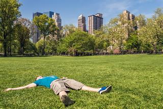 Central Park : j'en profite