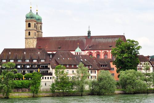 Bad Säckingen Fridolin Fridolinsmünster Holzbrücke Foto Brigitte Stolle