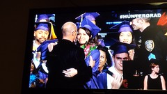 Maya Leggat Graduates after MTA PD Rescue on Metro-North Tracks