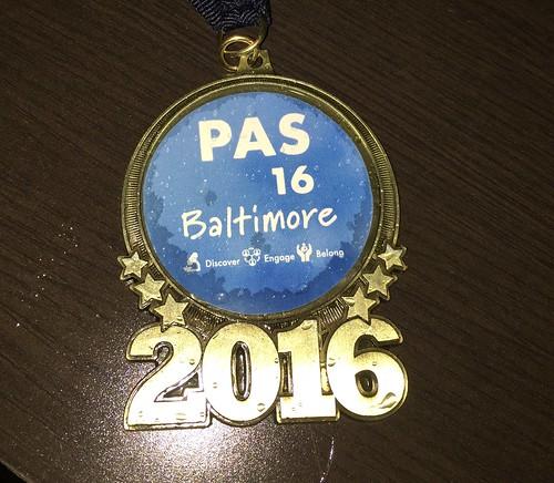 PAS Medal