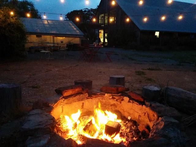 Roasting marshmallows at Heidrun Meadery
