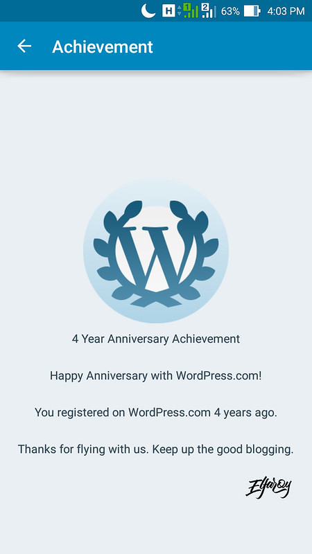 Achievement WordPress