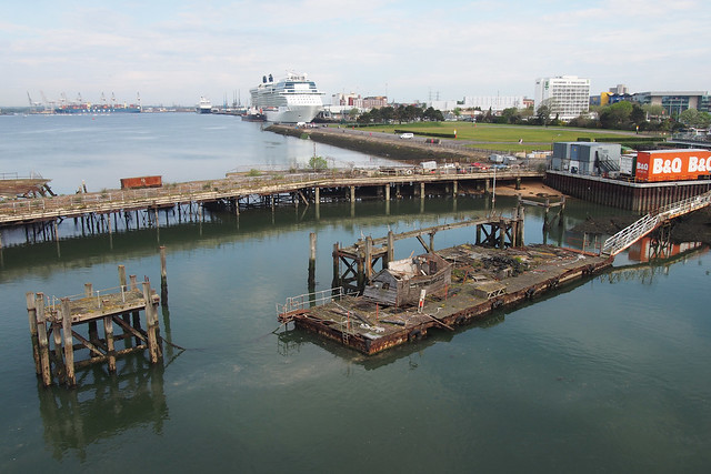 Cruise Ships at Southampton