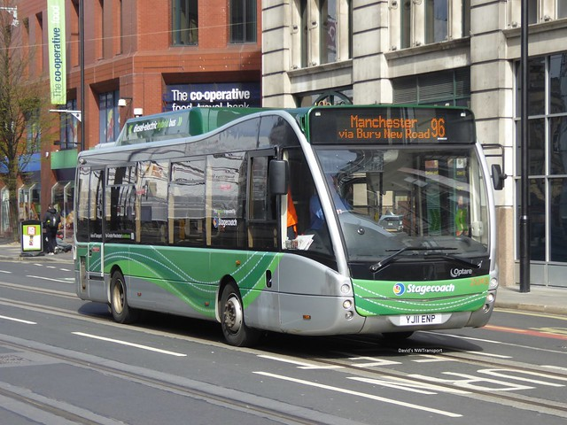 Stagecoach Manchester, 25343 [YJ11ENP] - Manchester (21/04/16)