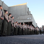 March 31, 2016 - 07:04 - Los Angeles County Sheriff Jim McDonnell addressing Transportation Bureau deputies, Men's Central Jail. March 31, 2016.