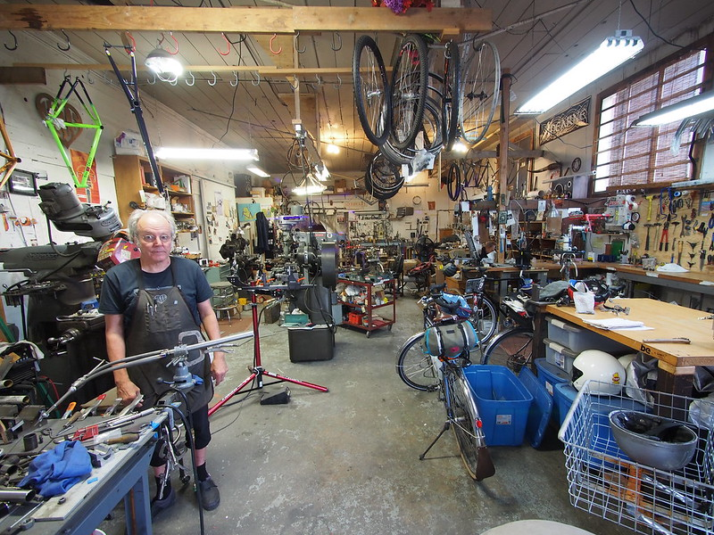 Page Street Cycles: Chris Igleheart and Joseph Ahearne