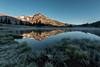 Frosty Green Lake