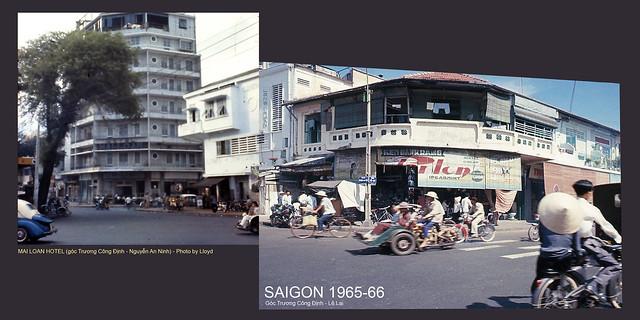 SAIGON 1965-66 - MAI LOAN HOTEL góc Trương Công Định-Nguyễn An Ninh