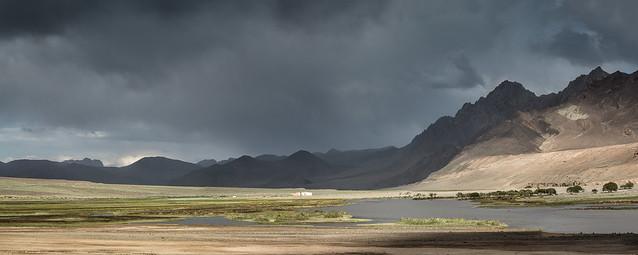 Rural scene near Murghab, Tajikistan