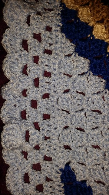 C2c baby boy blanket crochet. Completed may 4,2015