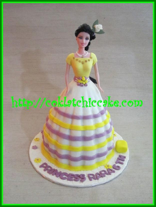 Cake Barbie