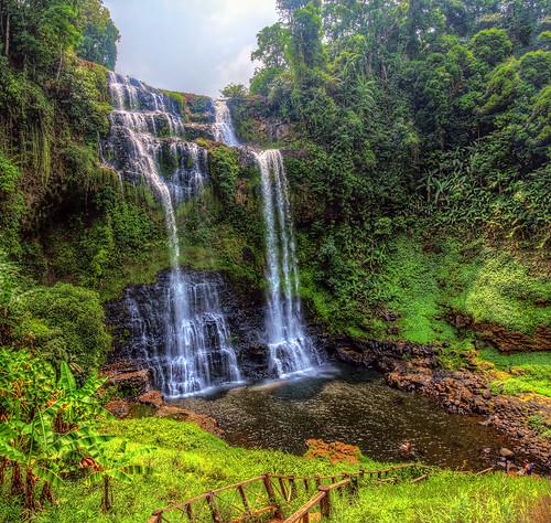 Tad Yuang Waterfall, Pakse, Laos