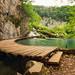Steg im Plitvicka Jezera Nationalpark by Dominik Schraudolf