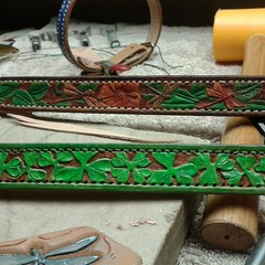 #irish #leather #dogcollar #leathergoods #petaccessories #petcollars  Beamishes collar