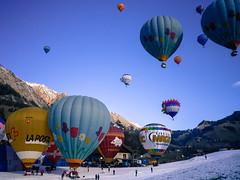 Château-d'Oex hot air balloon festival