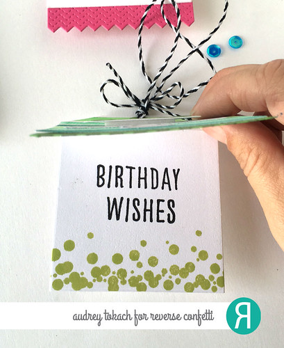 Watercolor Birthday Tags