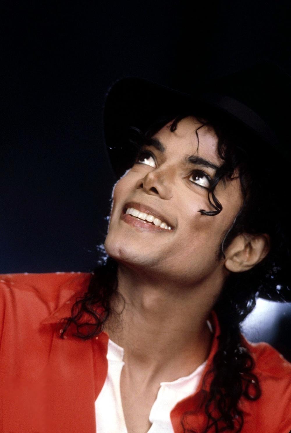 Майкл Джексон, фото крупным планом