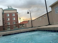 Homewood Suites Salt Lake City - at the hot tub